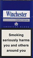 WINCHESTER COMPACT SILVER cigarettes 10 cartons