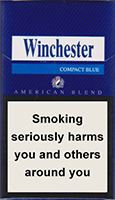 WINCHESTER COMPACT BLUE cigarettes 10 cartons