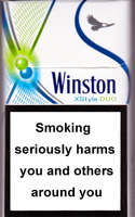 WINSTON XSTYLE DUO MENTHOL cigarettes 10 cartons