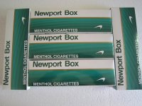 Newport box cigarettes (70 Cartons)