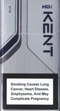 Kent HDi Blue Cigarettes 10 cartons