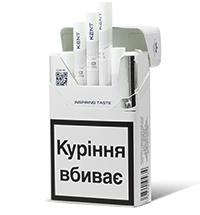 Kent HD White 1 Cigarettes 10 cartons