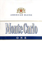 Monte Carlo One (Fine White) cigarettes 10 cartons