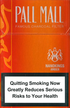 Pall Mall Amber Slims Cigarettes 10 cartons