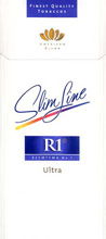 R1 Ultra Slim Line Cigarettes 10 cartons