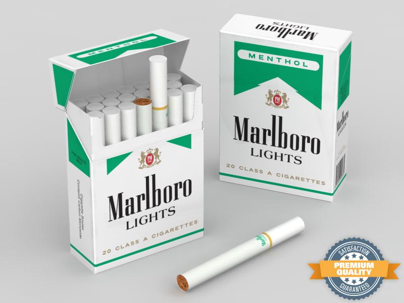 Marlboro Menthol Lights Shorts Cigarettes 10 Cartons Marlboro
