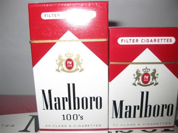 How much is a pack of ten cigarettes Marlboro