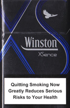 WINSTON XSENCE BLUE (MINI) cigarettes 10 cartons